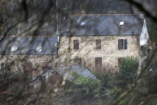La ferme d'Hubert Caouissin à Pont-de-Buis dans le Finistère