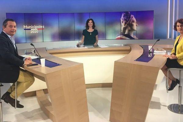 Municipales à Sète : le débat du second tour avec Véronique Calueba et Sébastien Pacull