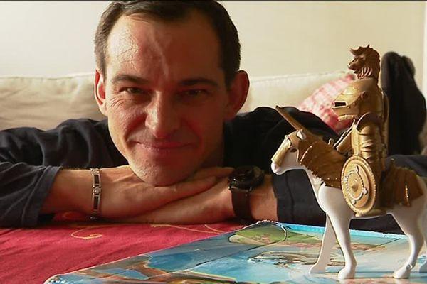Christophe Jullian et son avatar