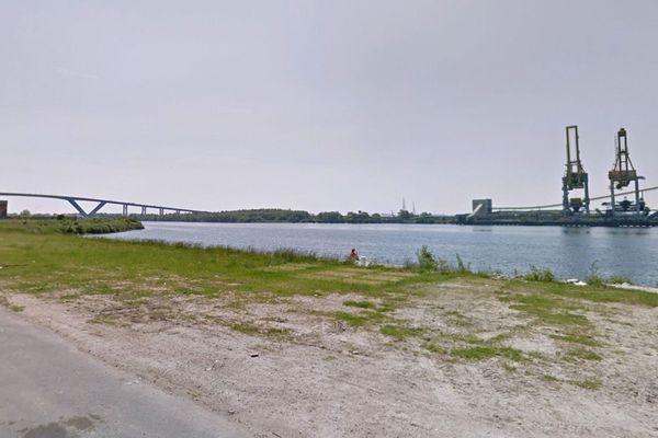 Grand Canal du Havre au niveau de Rogerville