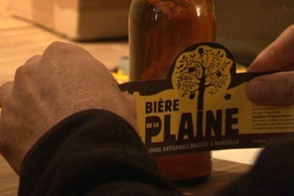 La bière porte le nom d'un quartier de Marseille : La Plaine !