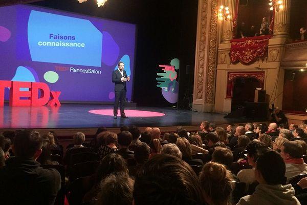 Côté public, ce TEDx Rennes a rassemblé 550 personnes, le 14 novembre 2019.