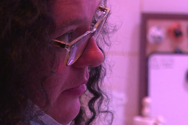 Jenny Garnita essaie de se reconstruire après la perte de sa maison à Grimaud en début de semaine.