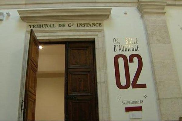 Le tribunal de grande instance de Chalon-sur-Saône, en Saône-et-Loire.