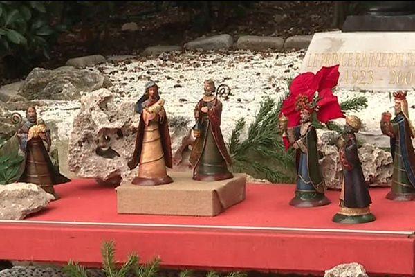 L'une des cinquante crèches disséminées dans Monaco pendant les fêtes de fin d'année