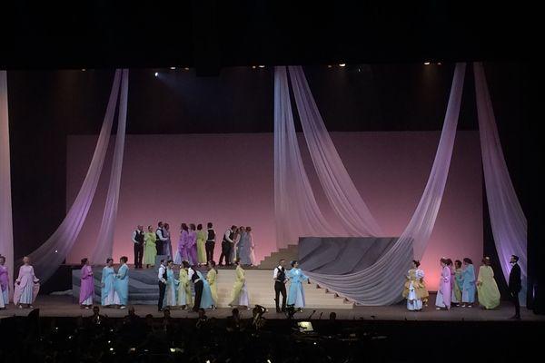 """""""My Fair Lady"""" par La Fabrique Opéra Val de Loire en mars 2018 au Zénith d'Orléans"""