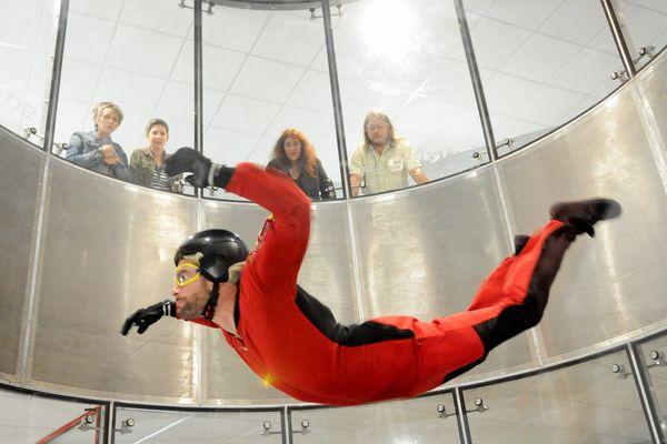 Un simulateur de chute libre à Lézignan-Corbières près de Narbonne.