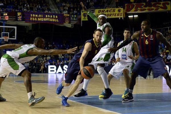 Le 31 octobre 2013, Nanterre s'est imposé 71 à 67 à Barcelone.