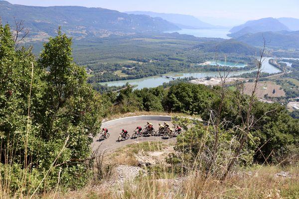 Tour de l'Ain 2021, la troisième étape reliera Izernore à Lélex Monts-Jura. (photo archives 2019)