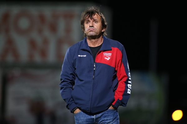José Pasqualetti, entraîneur de Nîmes - 14 août 2015