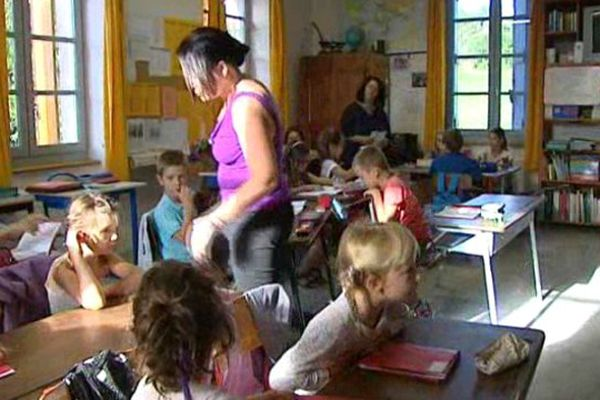La rentrée à Soudorgues, dans le Gard : l'école est la clef de la survie de ce village cévenol