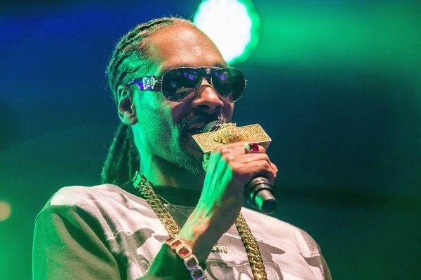 Snoop Dogg lors d'un de ses derniers concerts en suède.