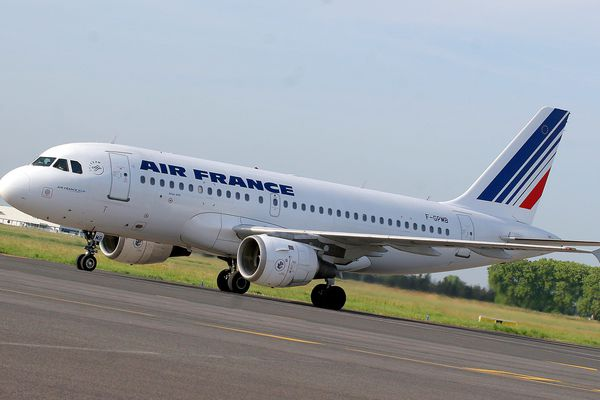 Avion air France/ Illustrations