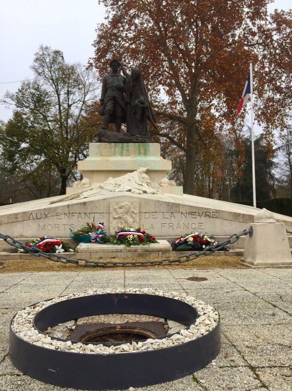 À Nevers ce mercredi 11 novembre.