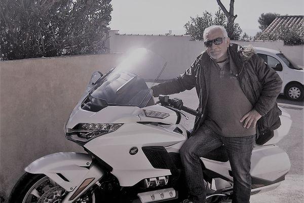 Alain Sarian, motard