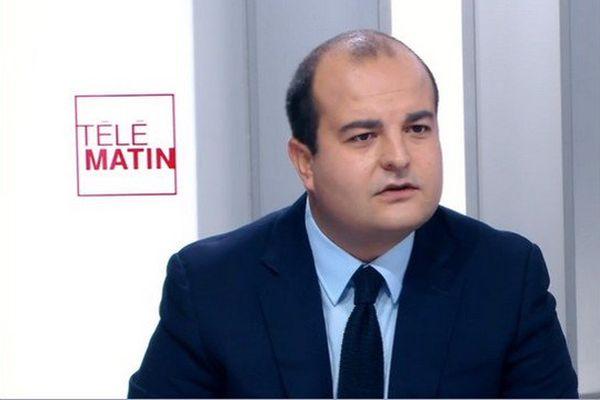 David Rachline était ce mardi matin l'invité des 4 vérités sur France 2.