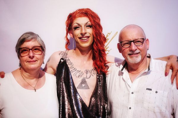 Viviann et ses parents