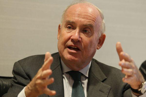 Dominique Bussereau (Les Républicains), président du conseil général de Charente-Maritime
