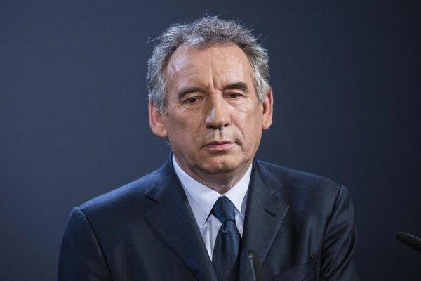 Le président du MoDem, François Bayrou, lors d'une conférence de presse, le 5 novembre 2013 à Paris.