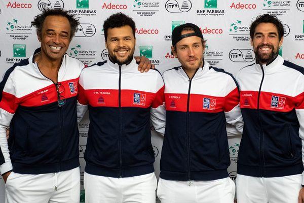 Noah, Tsonga, Pouille et Chardy. 3 places pour 2. Quel choix va faire le capitaine ?