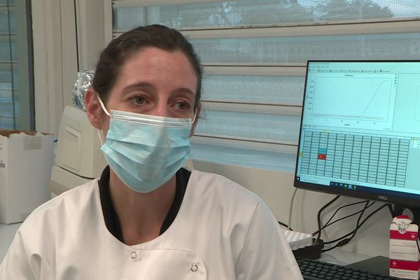 Anne Lecompte, pharmacienne biologiste