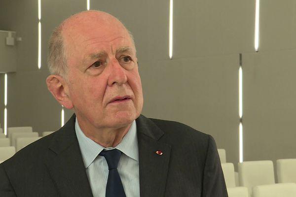 Jean-Marc Sauvé, président de la Commission indépendante des abuse sexuels dans l'Eglise