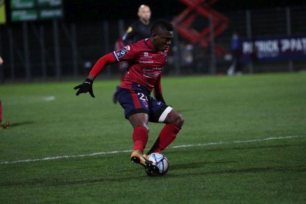 Arrivé au Clermont Foot l'été dernier, Jodel Dossou est l'auteur de 7 buts et de 2 passes décisives.