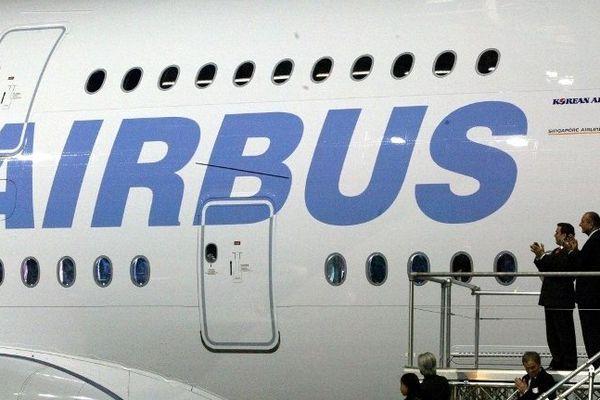 La présentation du premier A380