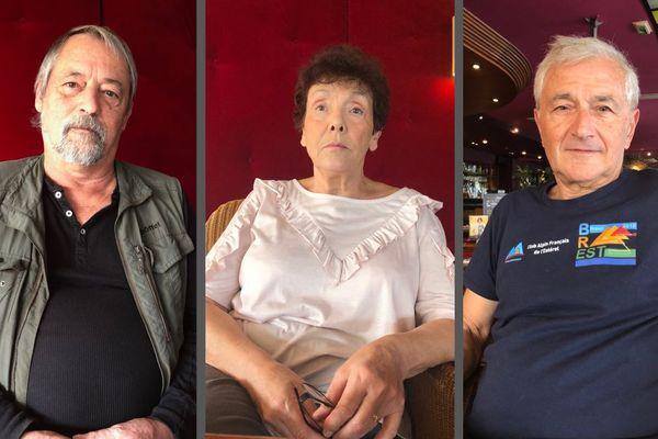 Michel Ruby, Simone Mercier-Infantolino et Daniel Castelly se souviennent de cette nuit qui a bouleversé leur vie.