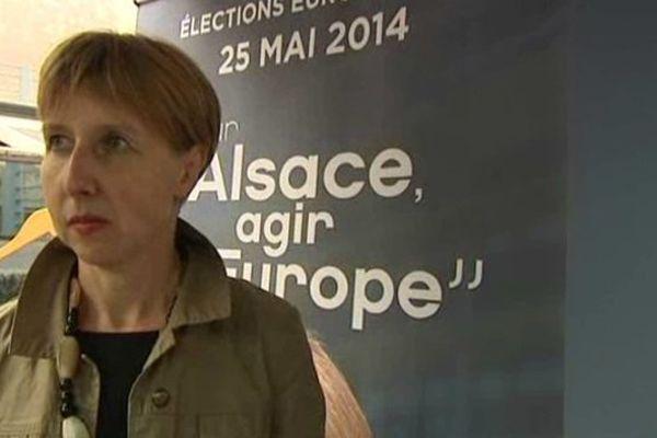 Anne Sander, en 3°position sur la liste UMP Grand Est aux élections européennes