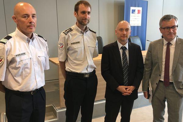 Les représentants de la police et le procureur de la République de Chaumont ont annoncé le démantèlement du principal réseau de trafiquants dans le secteur de Chaumont.