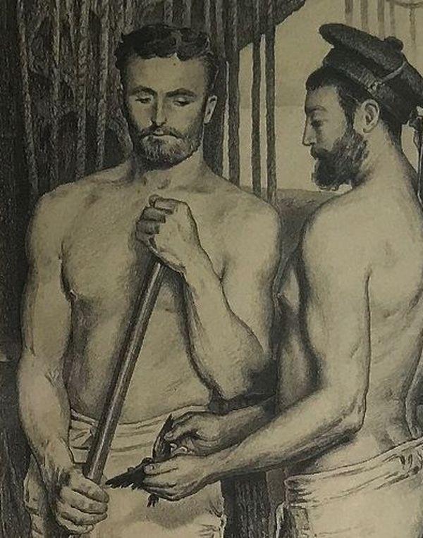 """""""Deux gabiers"""" de Pierre loti - 1886 (capture issue de notre reportage)."""
