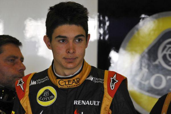 Esteban Ocon, le pilote de l'Eure devient le 3ème pilote de l'écurie Renault