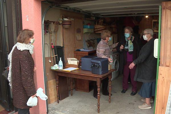 Dans sa cave, une citoyenne de Hoenheim est devenue un relais de distribution de soupes