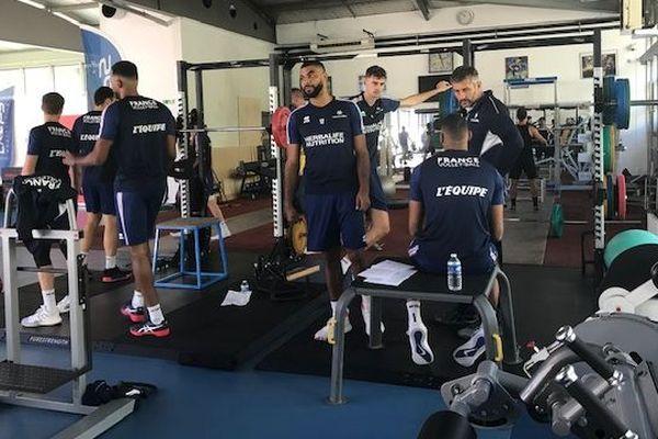 Les Bleus s'entraînent à quelques jours de l'Euro 2019. Lors de leur premier match, ils affronteront la Roumanie à Sud de France Arena de Montpellier.