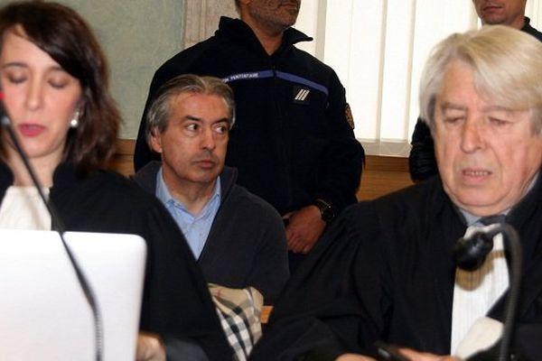 Jean-Louis Cayrou et son avocat, Me Jacques Lévy