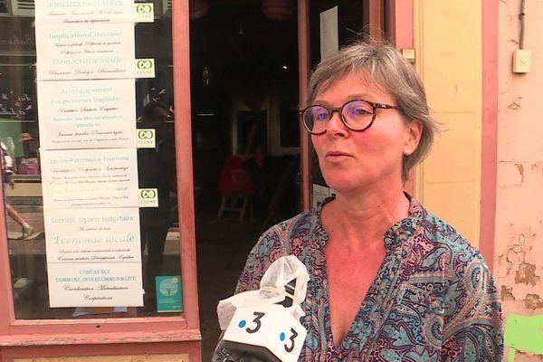 Marie Fauvet a été élue maire de Cluny dimanche 28 juin 2020.