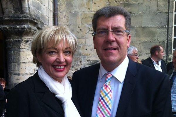 Antoine Lefèvre et Pascale Gruny, nouveaux sénateurs UMP de l'Aisne