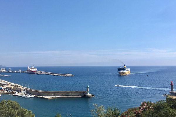 Le Pascal Lota, nouveau navire amiral de la Corsica Ferries