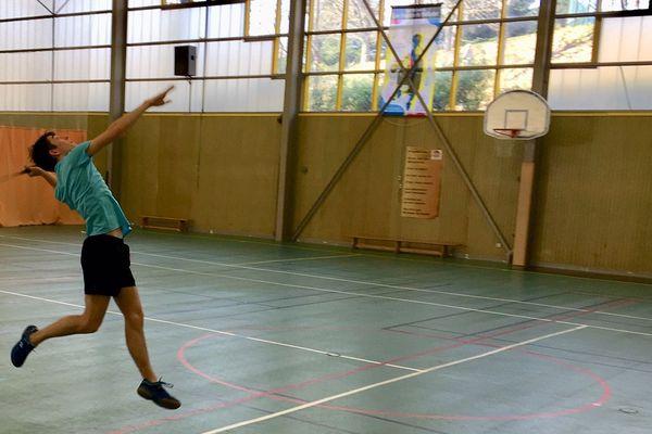 Badminton au Lycée Jean Monnet, Limoges (87)