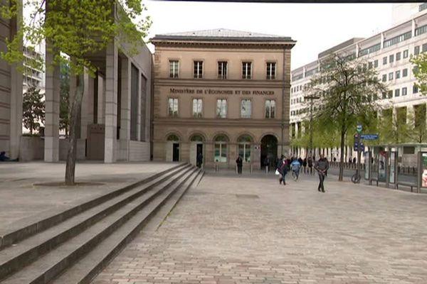 Le ministère de l'Economie et des Finances, rue de Bercy, à Paris