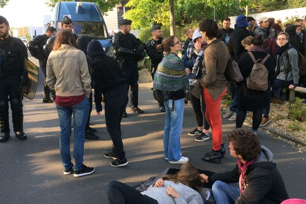 Les examens de la fac perturbés à La Trocardière à Rezé