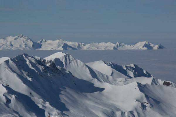 La Plagne, en Savoie.