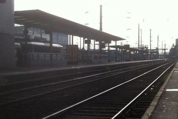 A Rennes, pas de train sur les voies