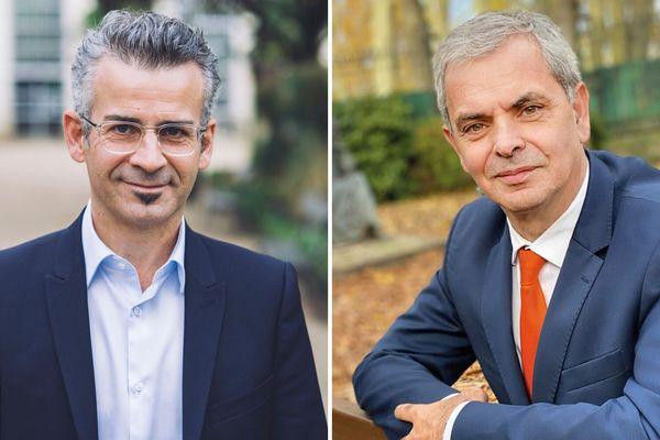 Emmanuel Denis et Christophe Bouchet candidats aux municipales de Tours 2020