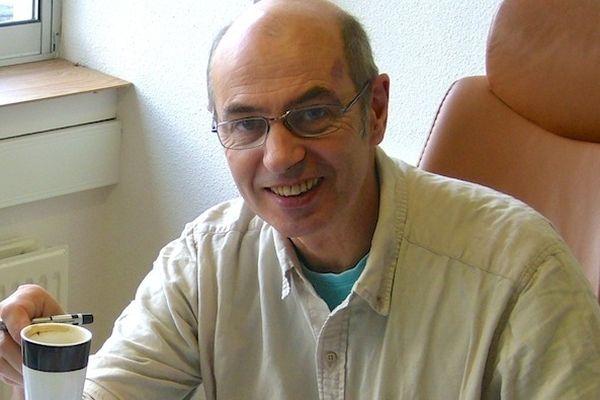 "Daniel Bordür, fondateur du site ""factuel.info"""
