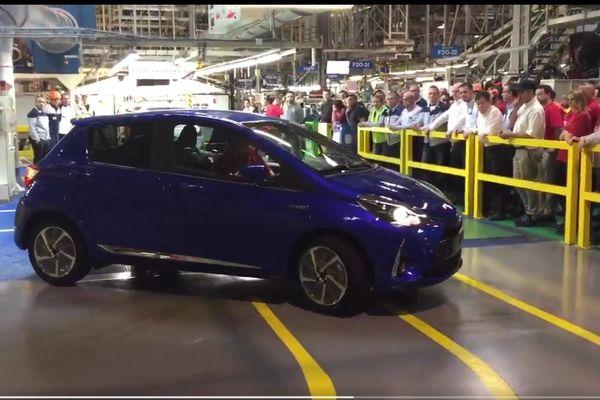 Le véhicule a été présenté à quelques dizaines d'employés.