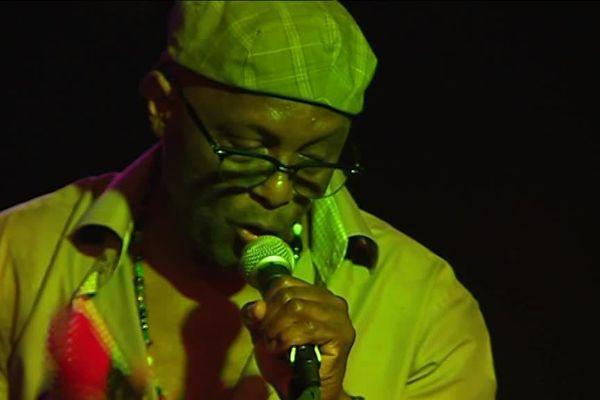 Edmoni Krater, musicien de Gwo Ka