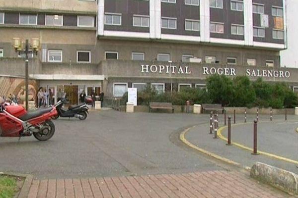 L'hôpital Salengro du CHRU de Lille. C'est dans le service réanimation que le drame s'est produit dans la nuit de lundi à mardi.