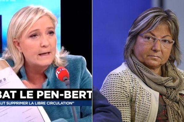 Natacha Bouchart veut porter plainte contre Marine Le Pen pour diffamation